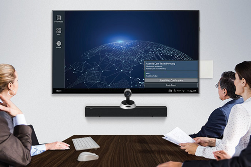 hệ thống aver video conference