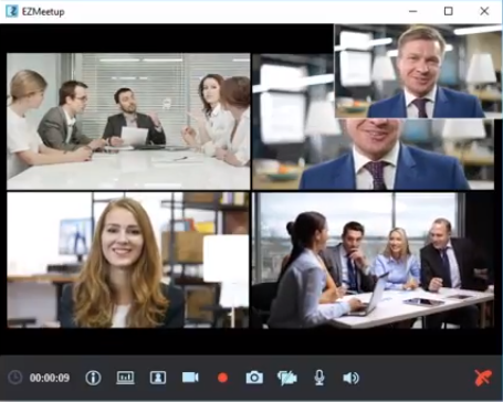 aver video conference họp với ezmeetup 2